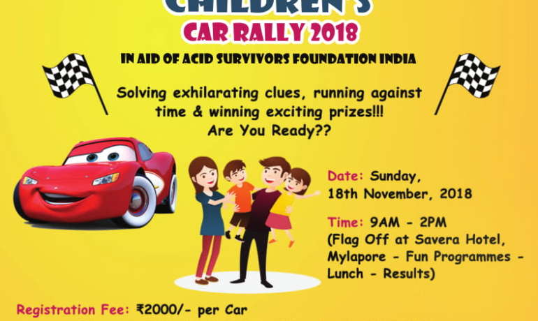 Children's Car Rally 2018